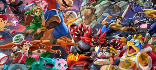 Yusuke Nakono explica el origen del mural de <em>Super Smash Bros. Ultimate</em>
