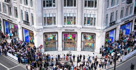 Microsoft abre su primera tienda oficial en Europa