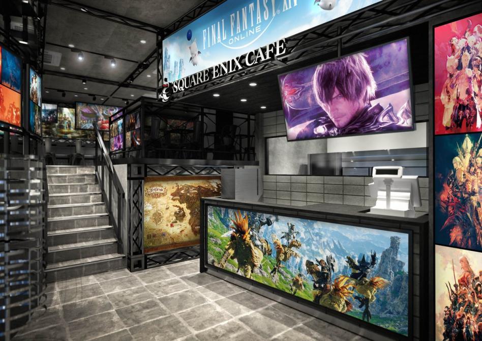 Estos son los platillos y los artículos exclusivos del Square Enix Cafe