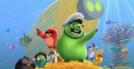 Una aventura submarina te espera en el nuevo juego VR de <em>Angry Birds</em>