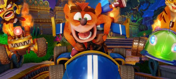 <em>Crash Team Racing Nitro-Fueled</em> también ha sido un éxito en el sector digital