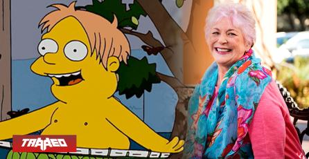 Fallece Russi Taylor: la voz original de Martin en Los Simpsons y Minnie Mouse