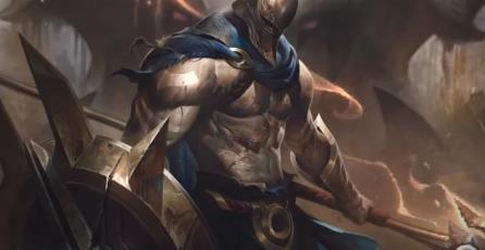Así de imponente y poderoso luce Pantheon, campeón de <em>League of Legends</em>