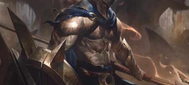Así de imponente y poderoso luce Pantheon, campeón de <em>League of Legends</em>
