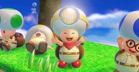 <em>Captain Toad: Treasure Tracker</em> recibe por sorpresa soporte VR
