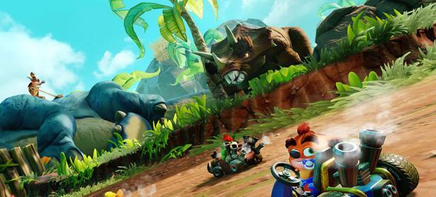 Vamos de regreso a la prehistoria con <em>Crash Team Racing Nitro-Fueled</em>
