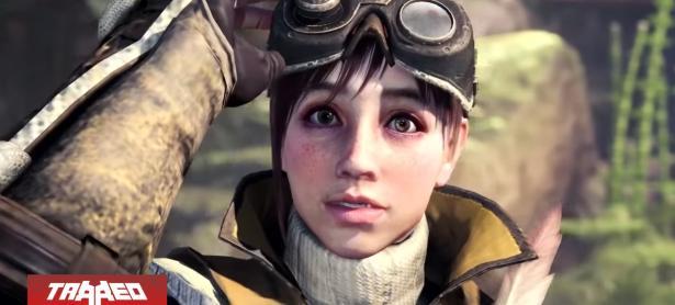 Icerborne: primera y única expansión de Monster Hunter World llegará a PC en 2020