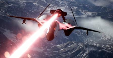 Demuestra supremacía aérea con el ADFX-01 Morgan para <em>Ace Combat 7: Skies Unknown</em>