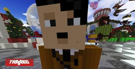 Streamer termina baneado por usar skin de Hitler en Minecraft