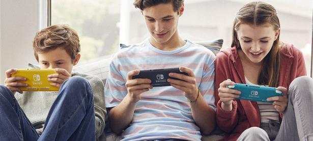 Así se ve un Nintendo Switch Lite por dentro