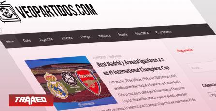 Policía de Investigaciones arresta a los dueños de VeoPartidos y FutbolChile