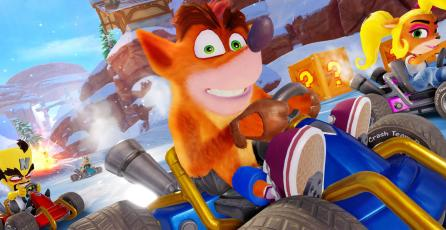 <em>Crash Team Racing Nitro-Fueled</em> retoma la delantera en Reino Unido