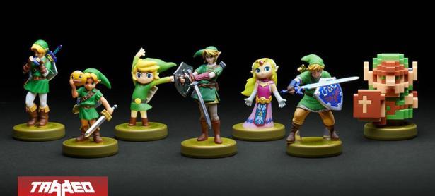 Nintendo traerá de vuelta Amiibos de Link en Majora's Mask, Ocarina of Time y 8 Bits