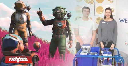 Fanáticos de No Man's Sky regalaron juegos y consolas a hospital de niños