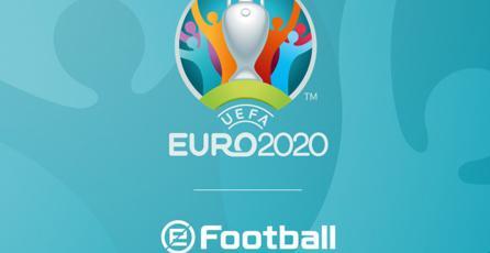 <em>eFootball PES 2020</em> asegura la licencia de la EURO 2020
