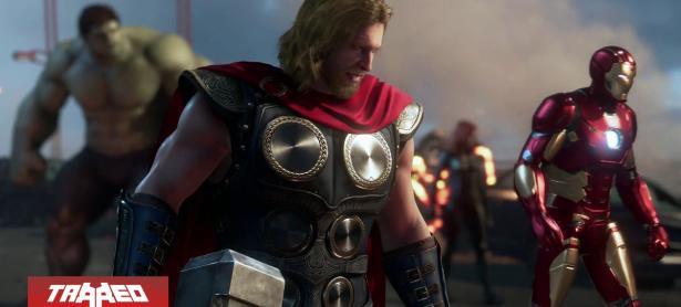 Mira el primer gameplay de Marvel´s Avengers
