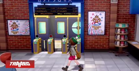 Está aquí: Pokémon Sword and Shield reveló los rincones de su ciudad británica