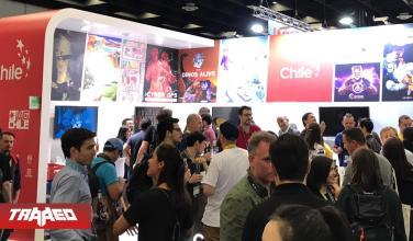 Con empanadas y cerveza, stand de Chile destaca en GamesCom 2019