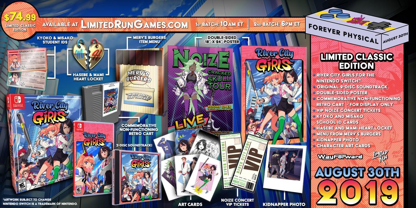 Esto es lo que incluirá <em>River City Girls: Classic Edition</em>