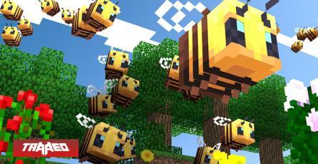 Las abejas llegan a Minecraft en su última gran actualización