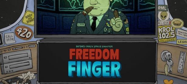La sátira y humor de <em>Freedom Finger</em> llegarán pronto a Switch y PC