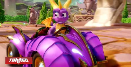 Crossover: Spyro se suma a la carrera de Crash Team Racing con nuevo DLC