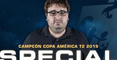 SpeCial dominó las temporadas de la Copa América de <em>StarCraft II</em>