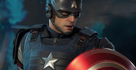 Mira al Capitán América en acción en <em>Marvel's Avengers</em>