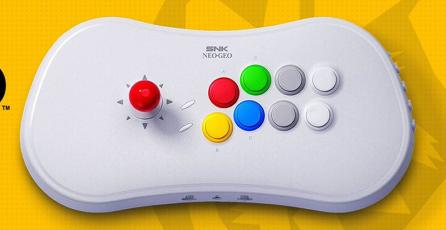 SNK revela el Neo Geo Arcade Stick Pro