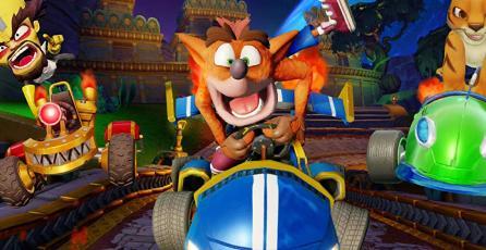 <em>Crash Team Racing: Nitro-Fueled</em> fue el juego más vendido de agosto en Reino Unido