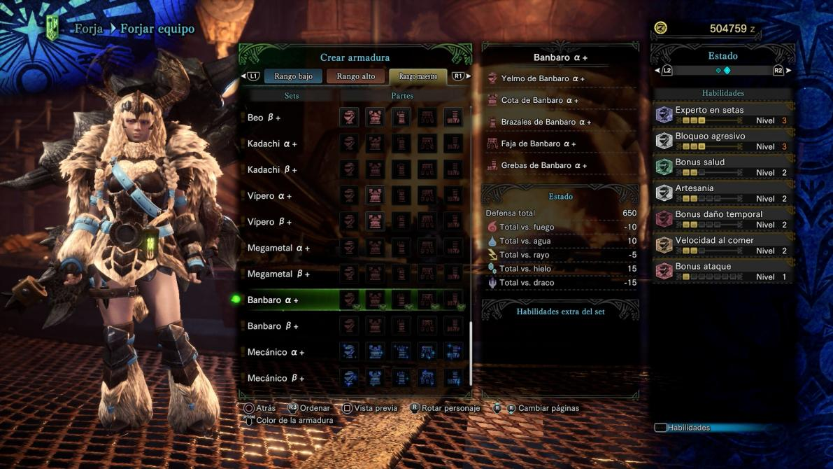 Monster Hunter World: Iceborne en imágenes
