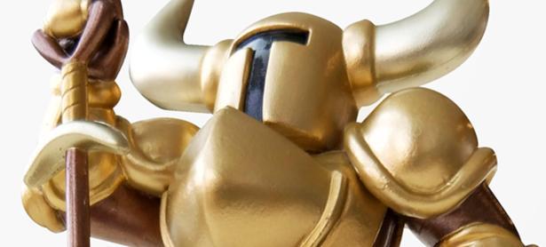 Es oficial: habrá un amiibo dorado de <em>Shovel Knight</em>