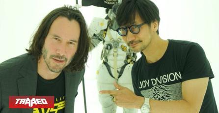 Crossover: Keanu Reeves visitó a Hideo Kojima en el estudio de Death Stranding