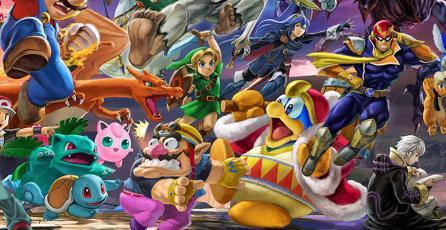 El peso inicial de <em>Super Smash Bros. Ultimate</em> eran 60 GB