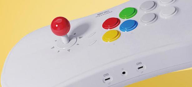 El Neo Geo Arcade Stick Pro llegará con juegos clásicos precargados