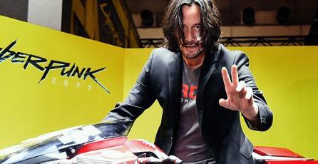 Keanu Reeves visitó el booth de <em>Cyberpunk 2077</em> en Tokyo Game Show 2019