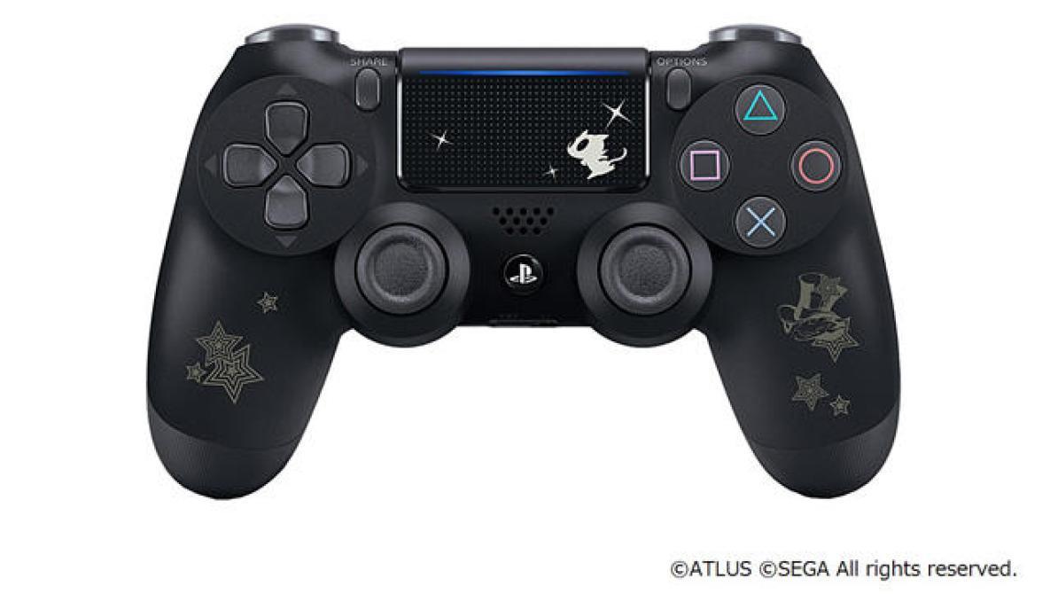 Así lucen los PS4 edición especial de <em>Persona 5 Royal</em>