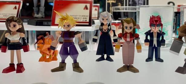 Estas figuras retro de<em> Final Fantasy VII </em>son las mejores que verás
