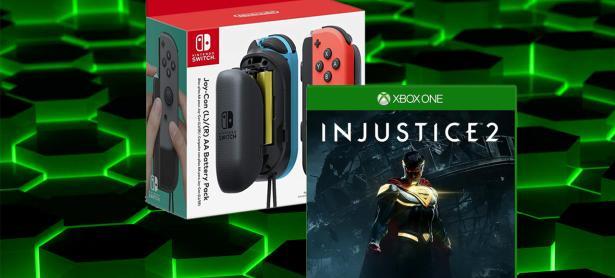 Ofertas de la semana: Joy-Con battery pack, <em>Burnout Paradise</em> e <em>Injustice 2</em>