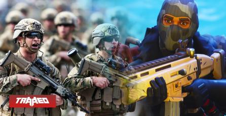 Prensa chilena usó a Fortnite para describir rifle de asalto mostrado en desfile militar