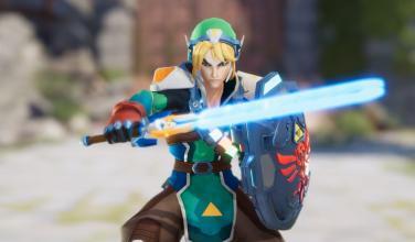 Reinterpretan a Link de <em>Zelda</em> como un nuevo héroe de <em>Overwatch</em>