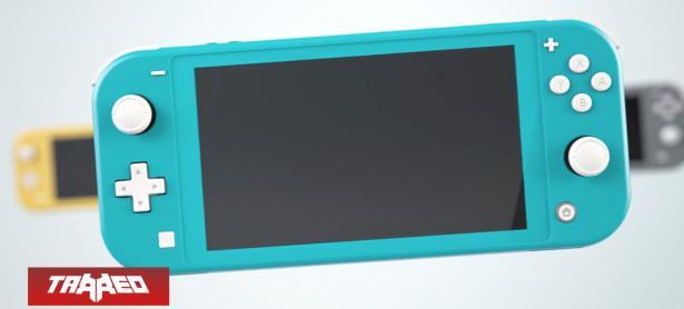 La Nintendo Switch Lite nos sugiere desacoplar los Joy-Con a pesar de que no se puede