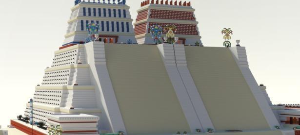 ¡Increíble! Reconstruyen parte de Tenochtitlan en <em>Minecraft </em>