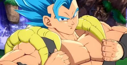 Checa el increíble poder de Gogeta en<em> Dragon Ball FighterZ</em>