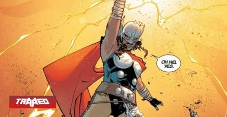 Nueva heroína de Marvel logra empuñar el martillo de Thor