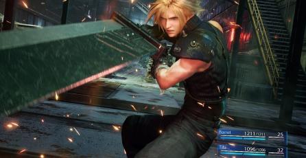 Los nostálgicos amarán la portada de <em>Final Fantasy VII Remake</em>
