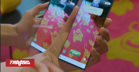 Candy Crush cobra vida en realidad aumentada gracias al Galaxy Note10 junto a Black Pink
