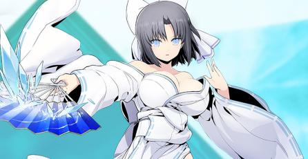 Así peleará Yumi de <em>Senran Kagura</em>, en <em>BlazBlue Cross Tag Battle</em>