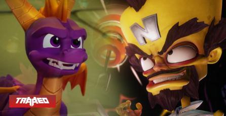 Trilogía de Spyro y Crash con Call of Duty  caen 12 dólares en Humble Bundle