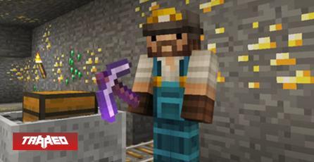 Fanático de Minecraft terminó el juego sin usar el pico